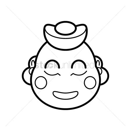 450x450 Free Laughing Buddha Stock Vectors Stockunlimited