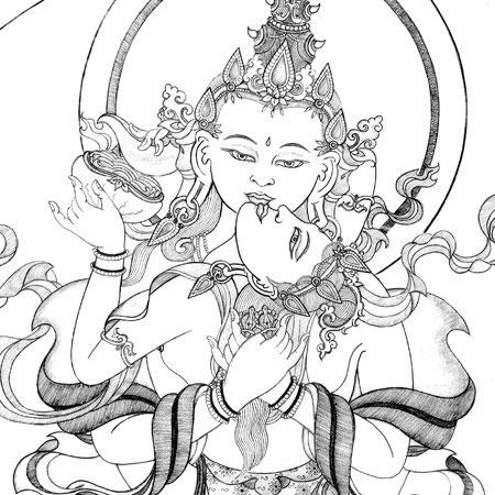 450x450 Heruka Vajrasattva Buddhist Art, Thangka Painting Amp Courses By