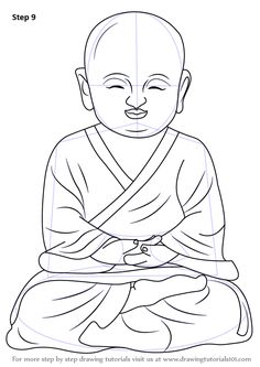 236x333 How To Draw Buddha The Easiest Way Learn The Technique