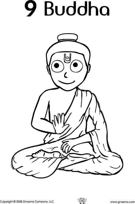 colorful laughing buddha coloring pages collection ways to use