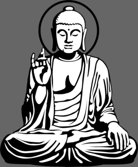 Buddha Line Drawing at GetDrawings | Free download