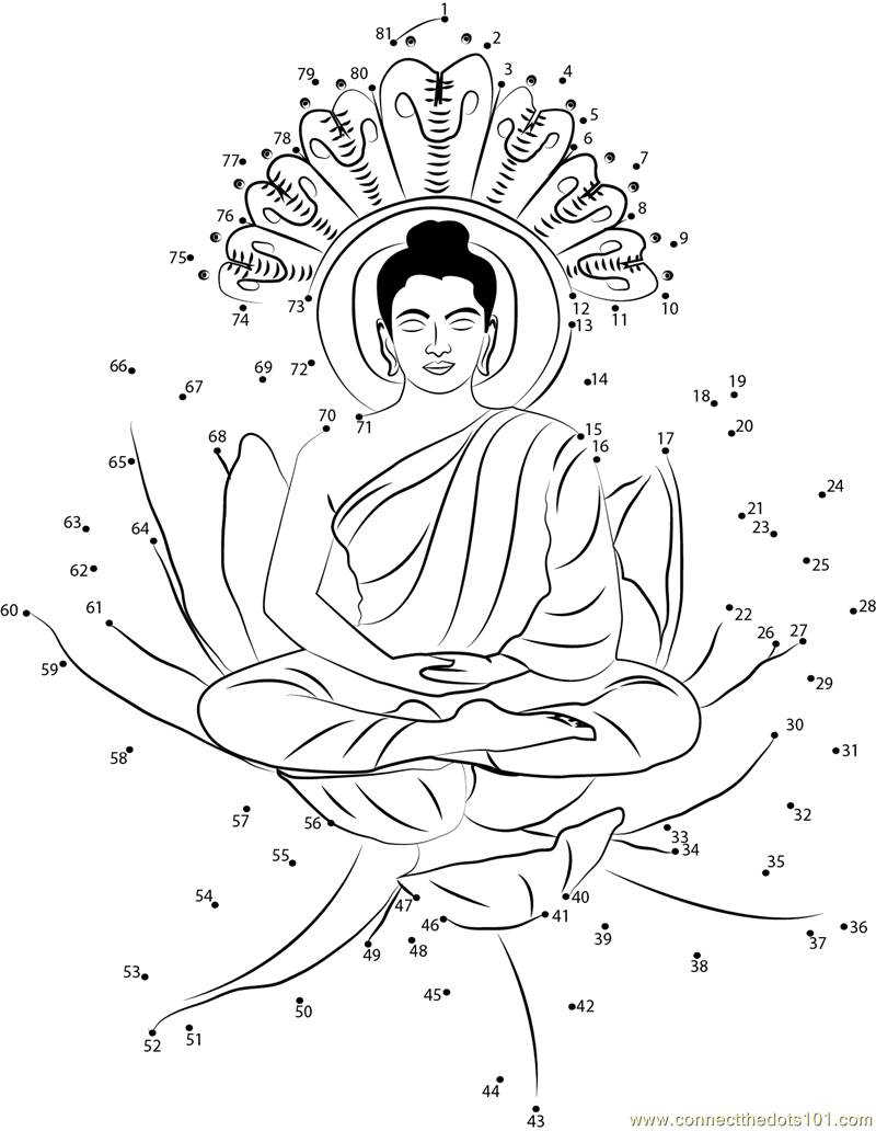 coloring pages buddah - photo#32
