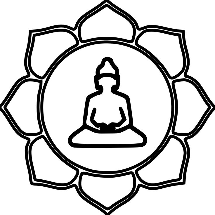 Buddha Outline Drawing At Getdrawings Free For Personal Use