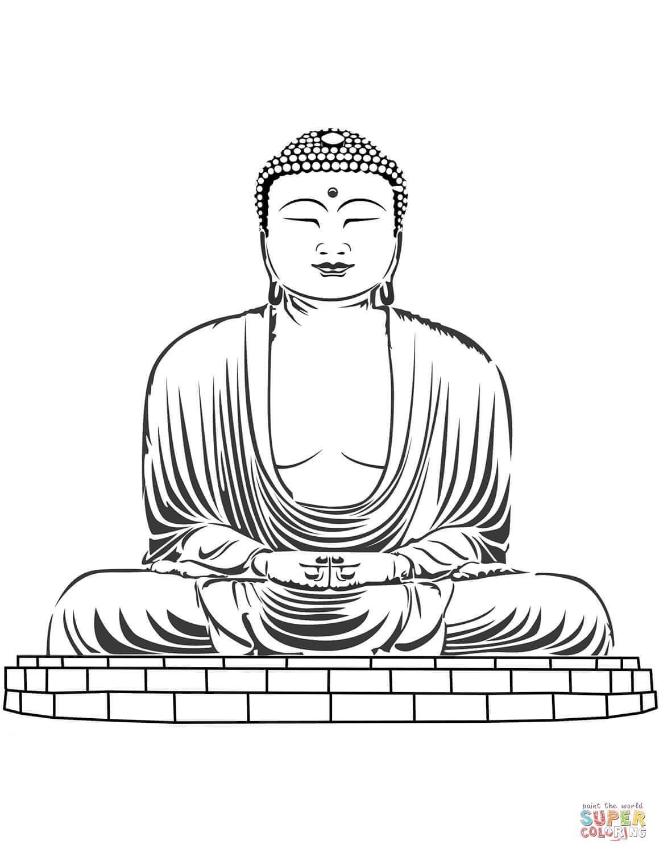 buddha sketch drawing at getdrawings  free download