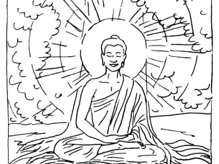 440x330 Buddhist Coloring Pages Coloring Page Buddhist Coloring Pages