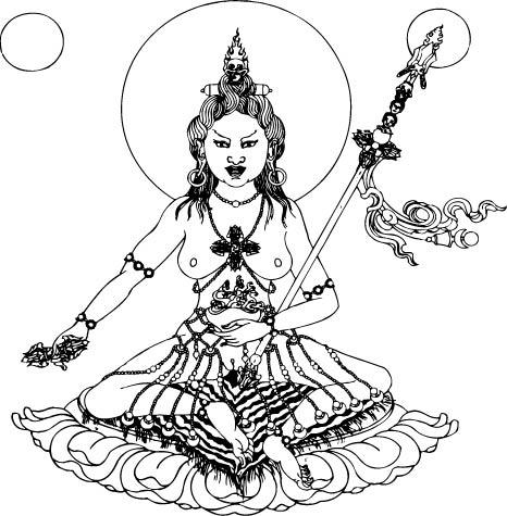 466x475 Yidams A Godless Approach, Naturally! Vividness