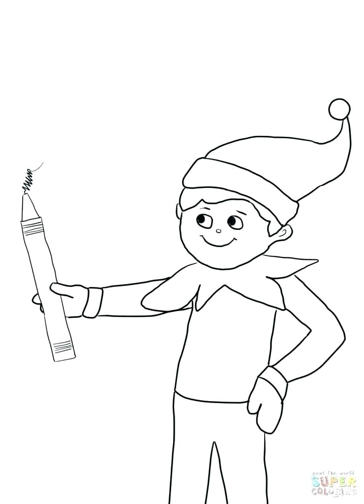 740x1024 Buddy The Elf Coloring Pages Elf Coloring Book Elf Coloring Pages