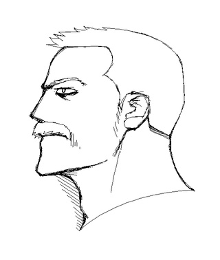 320x378 Buff Guys Are Easy To Draw, Probably Because I'M A Guy Myself