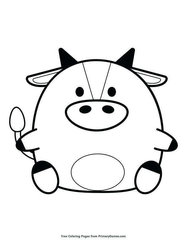 600x776 Epic Ox Coloring Page Image Cartoon Bull Buffalo Stock Vector