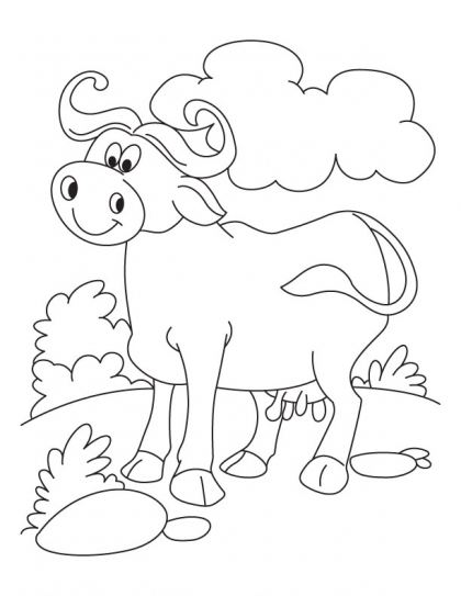 420x543 Cool N Relaxed Buffalo Coloring Pages Download Free Cool N