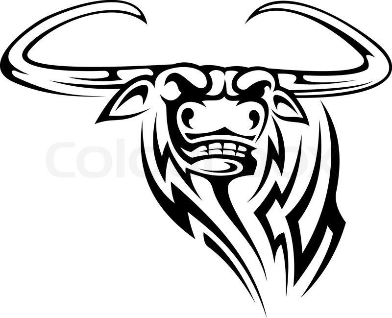 800x649 Buffalo Mascot Stock Vector Colourbox