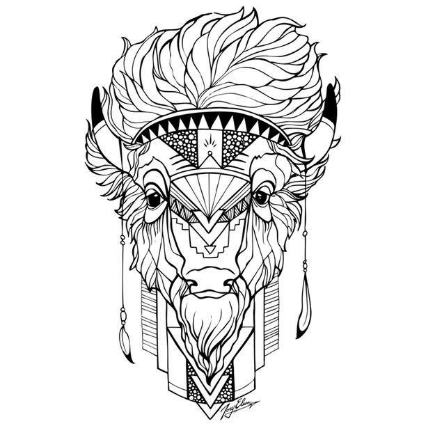 612x612 Oils For Awakening Little Buffalo Tshirt