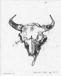 236x295 Watercolour Paper, Longhorn. St