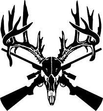 210x225 Antler Deer Buffalo Skull Boho Tribal Hunting Skulls Decal Sticker