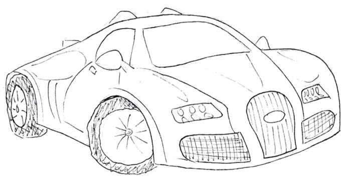 700x358 Bugatti Veyron Gt Bild Coloring Page Bugatti