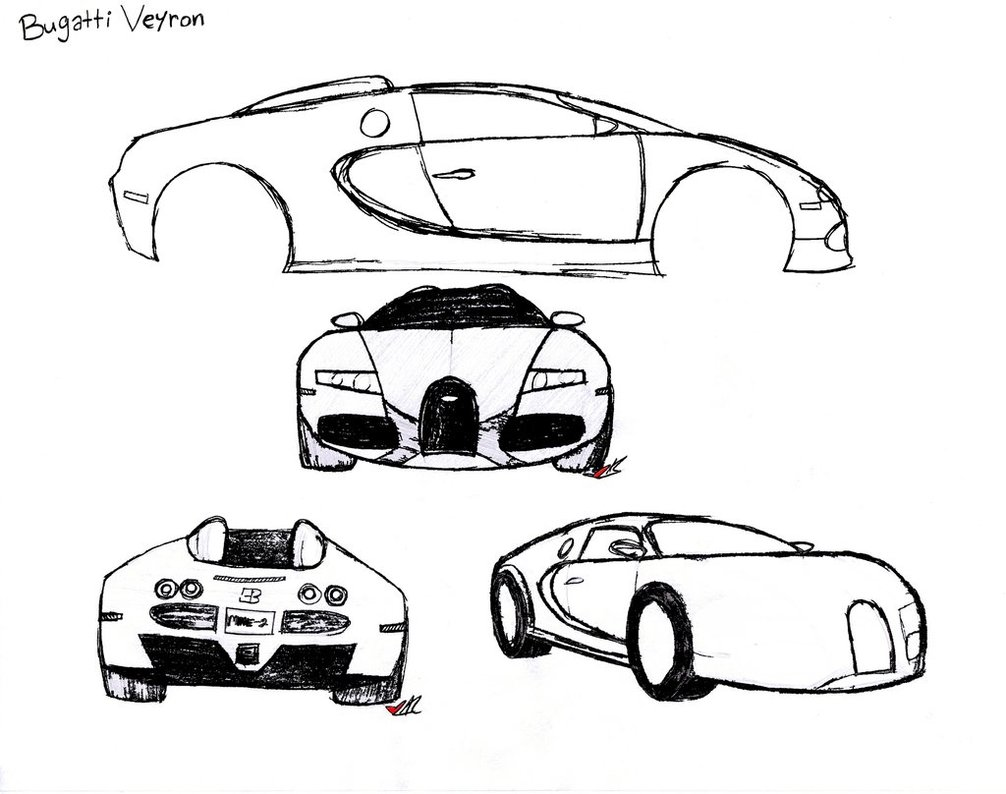 1006x794 Bugatti Sketch 2 By Lady Autobot17