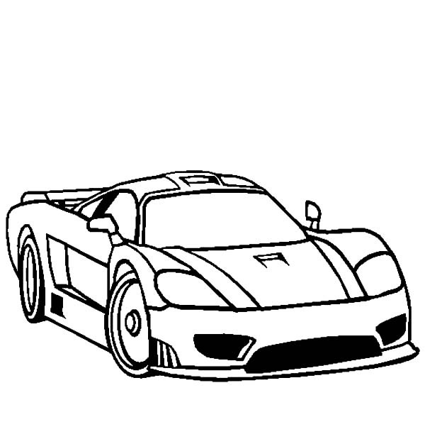 600x612 Bugatti Car Coloring Pages Best Place To Color