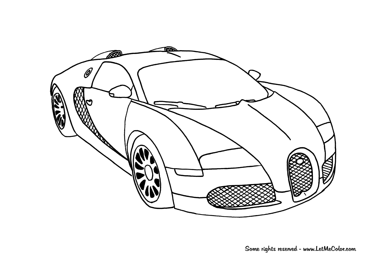 1600x1131 20 Bugatti Coloring Pages Images