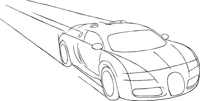 Bugatti Drawing Step By Step At Getdrawings Com