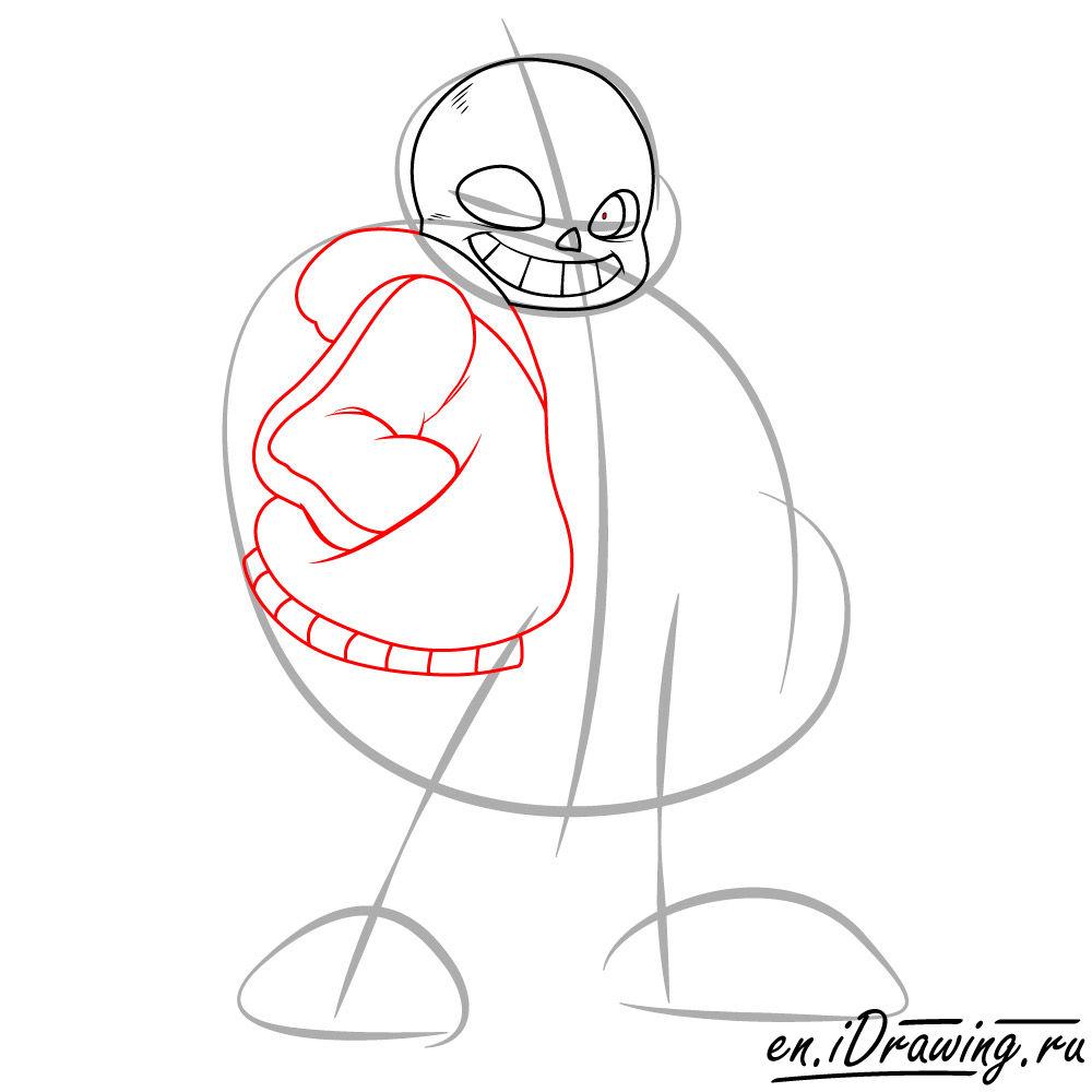1000x1000 How To Draw Sans Art Version