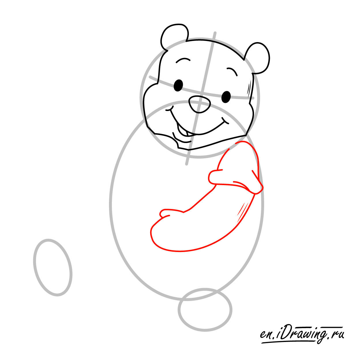 1200x1200 How To Draw Winnie The Pooh Eating Honey