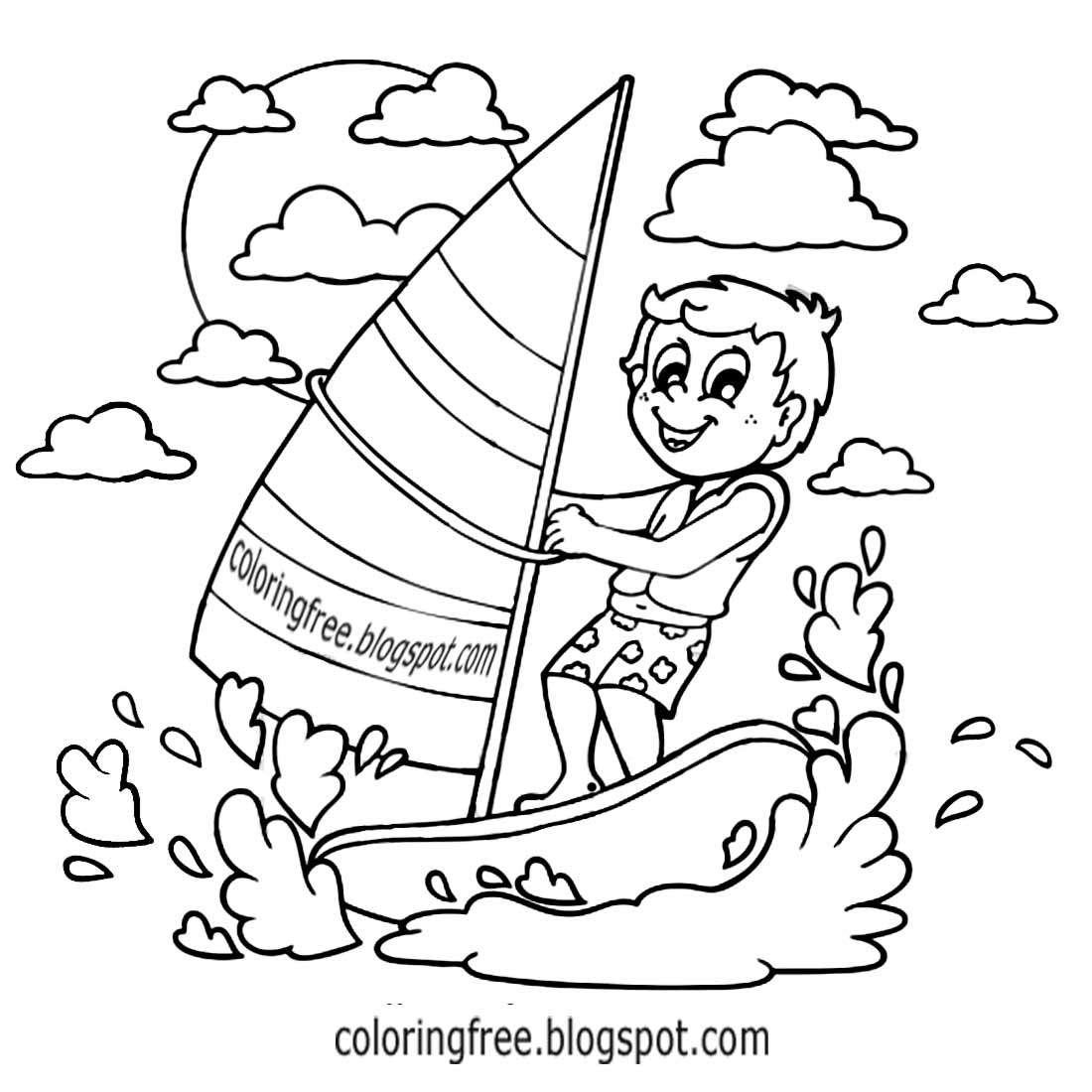 1100x1100 Sports Coloring Pages. How To Draw Cartoon Bunny Rabbit Boxing