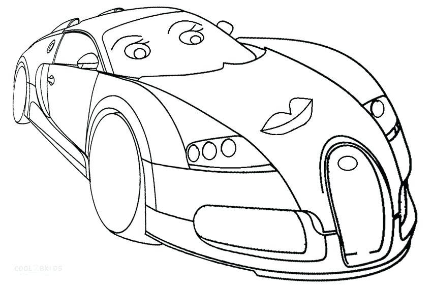 850x567 Bugatti Coloring Page