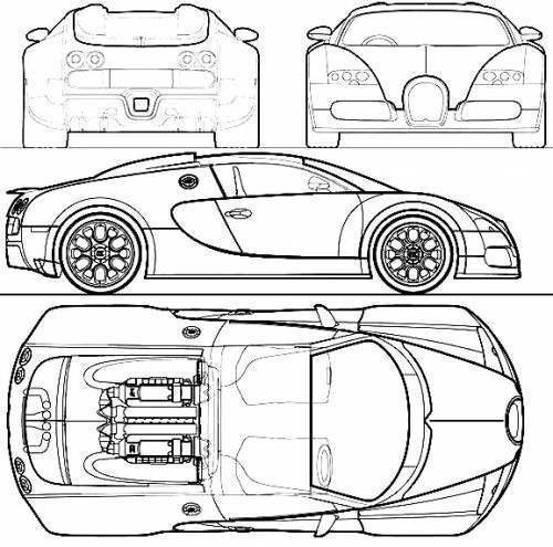 500x495 Bugatti Veyron 3d Mode Cgtrader