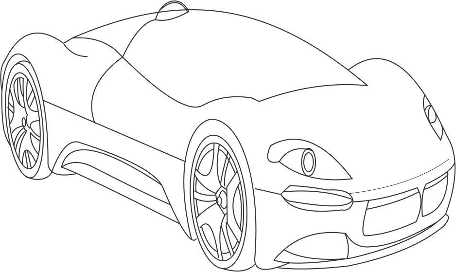 938x559 11 Images Of Bugatti Veyron Super Car Coloring Page