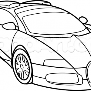 300x300 How To Draw Bugatti Veyron Step By Cars Online How Coloriage Bug
