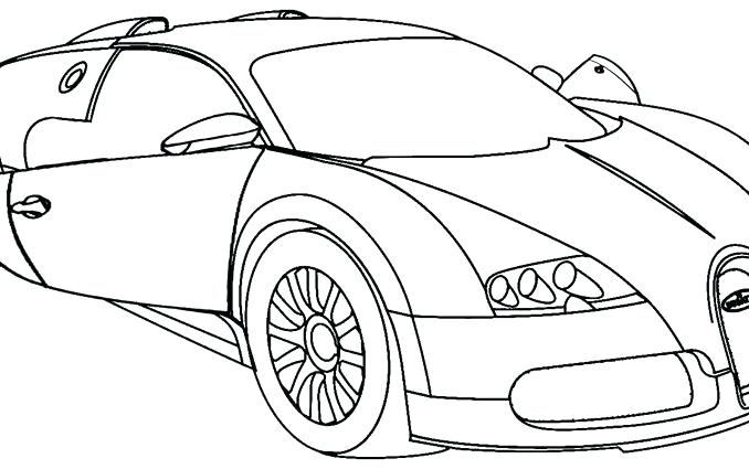 678x425 Lovely Bugatti Coloring Page Online