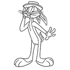 230x230 Bugs Bunny Coloring Pages Printable To Pretty Paint Printable