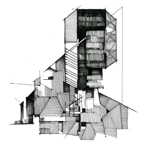 Building Architectural Drawing