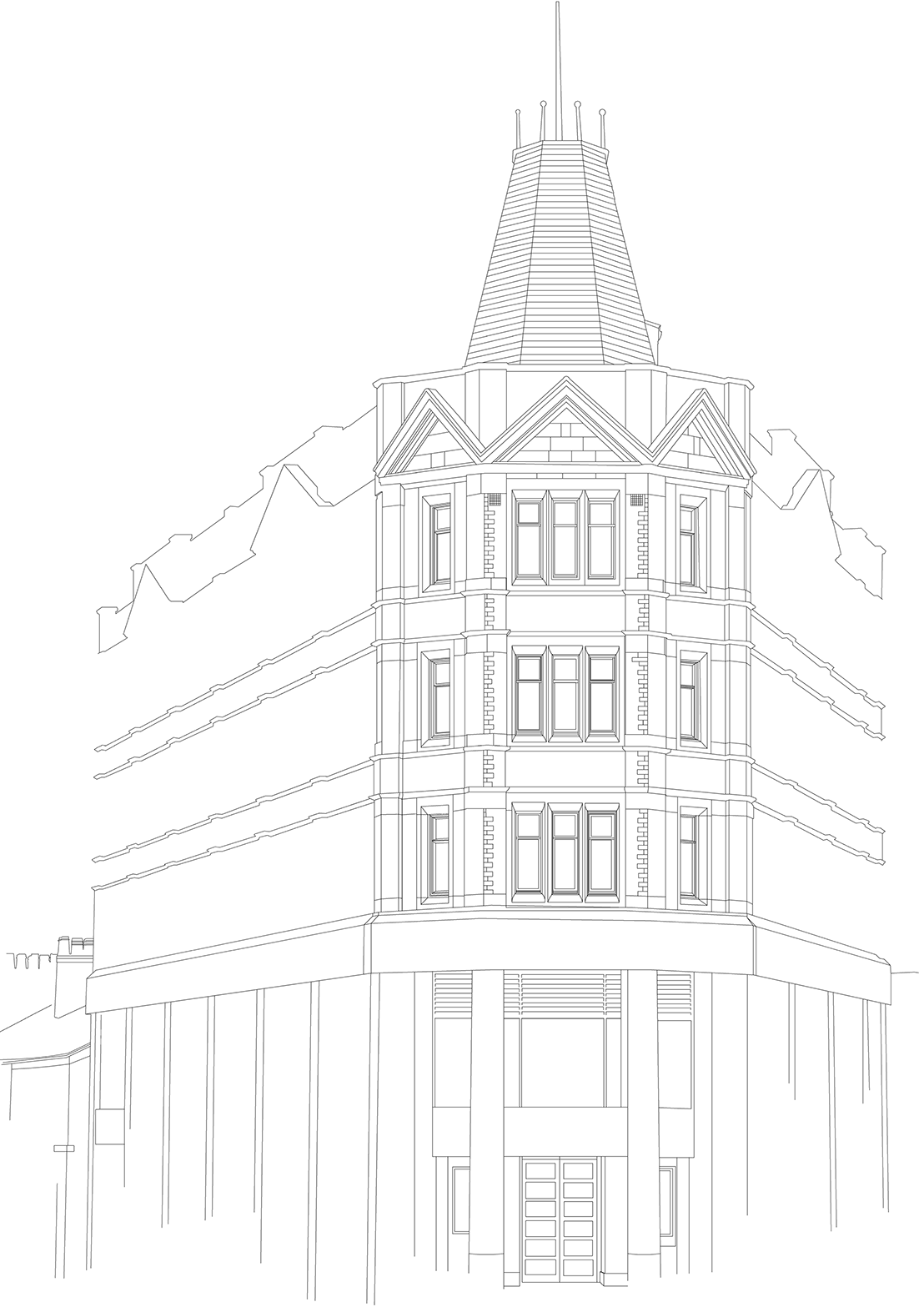1108x1567 Architectural Drawing