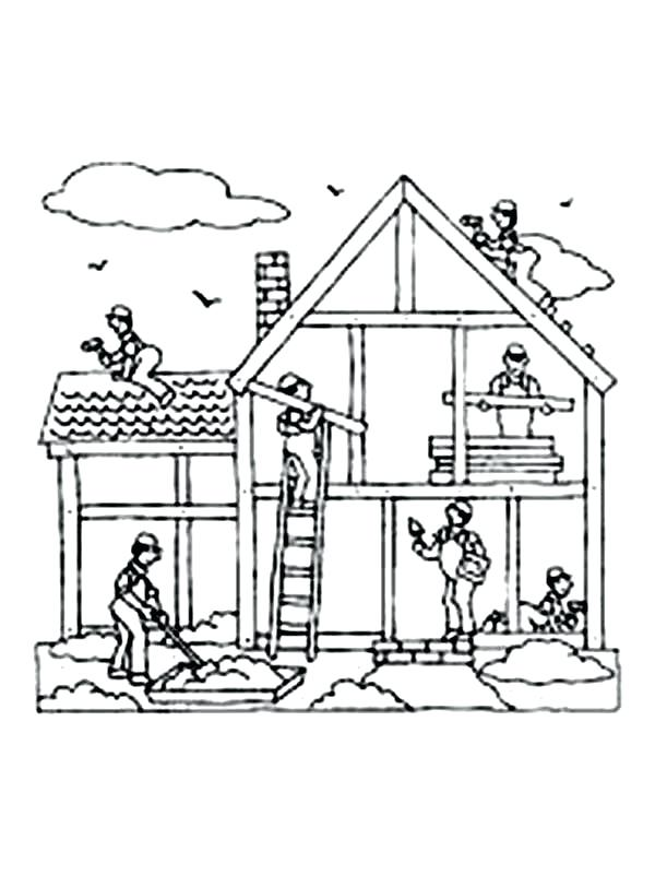600x801 Building Coloring Pages Building Blocks Coloring Pages Joandco.co