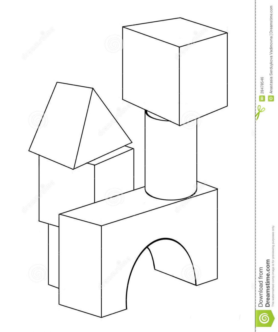 974x1162 Coloring Pages Blocks Cp Building P On To Print Abc Color Sheets