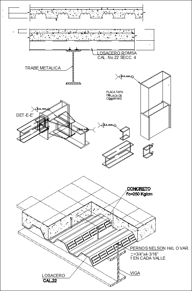 619x938 Steel Structure Detail Cad Drawings Download (Httpswww