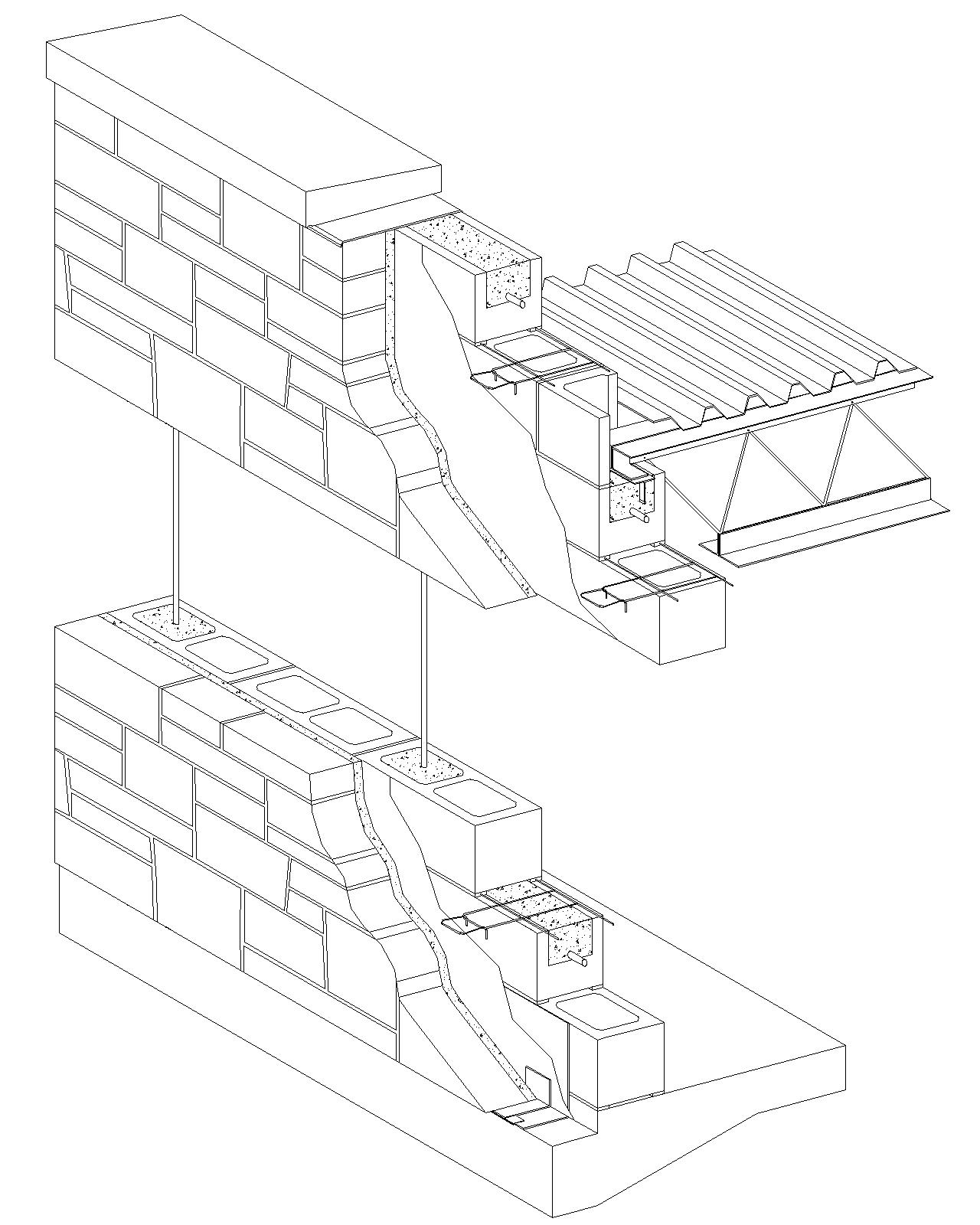 1280x1600 Form Stone Wall In Plan Detail Drawing
