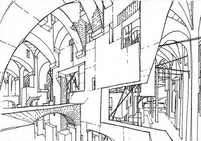 400x281 Imaginary Jerusalem Drawing By Stefan Davidovici, Architect