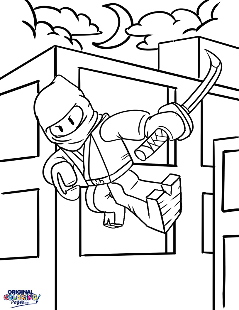 coloring pages building block - photo#11