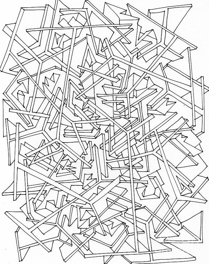 712x900 Building Blocks Drawing By Nancy Kane Chapman