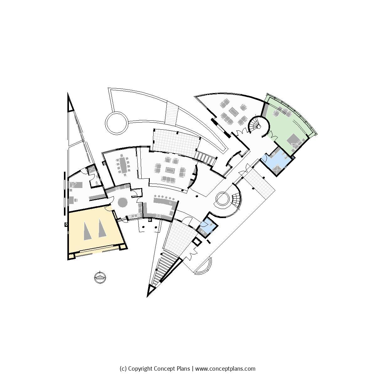 1200x1200 Concept Plans 2d House Floor Plan Templates In Cad And Pdf Format