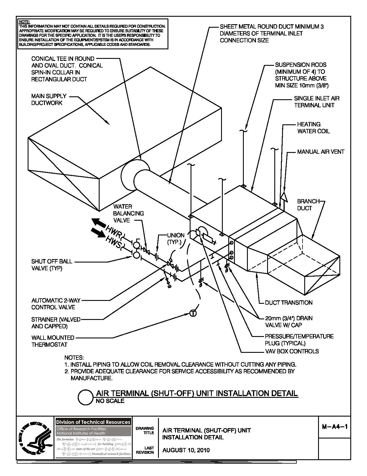 1275x1650 Nih Standard Cad Details