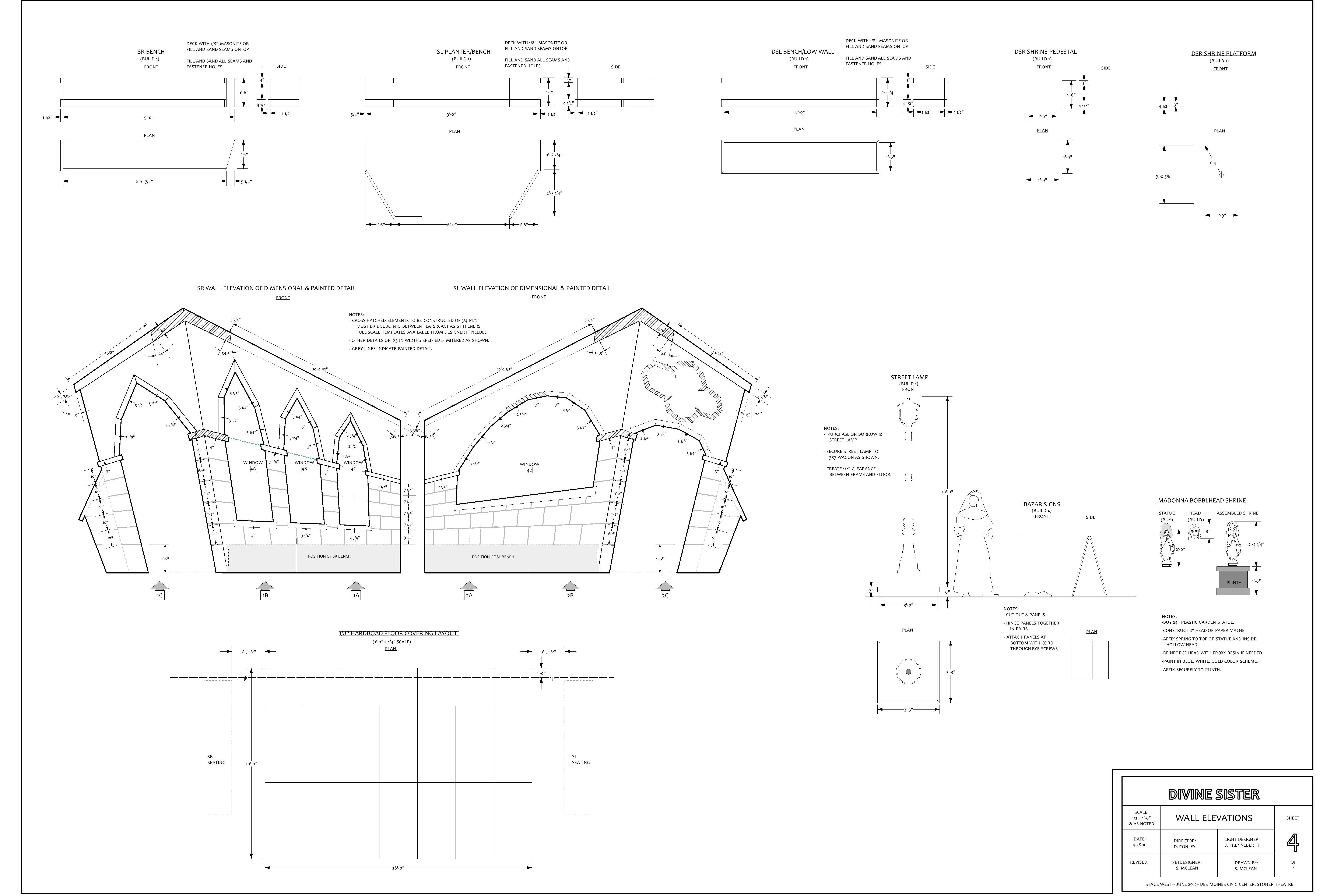 6224x4228 A Set Design For The Divine Sister Designandtechtheatre