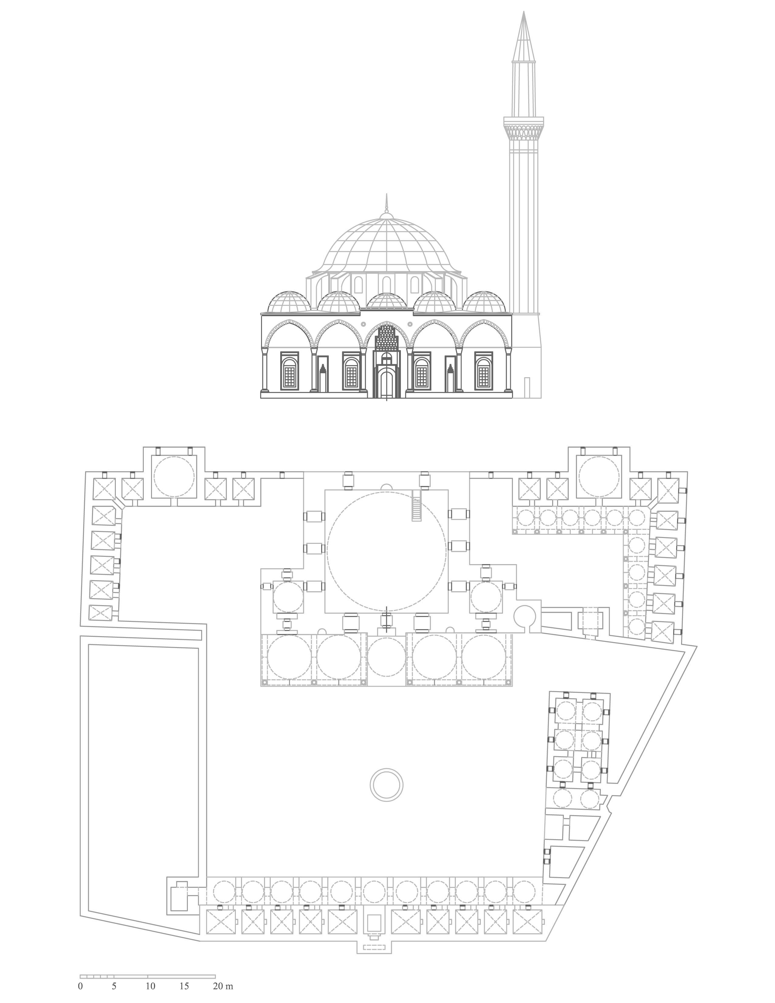 2550x3300 Jami' Wa Madrasa Al Khusruwiyya Reconstruction Plan