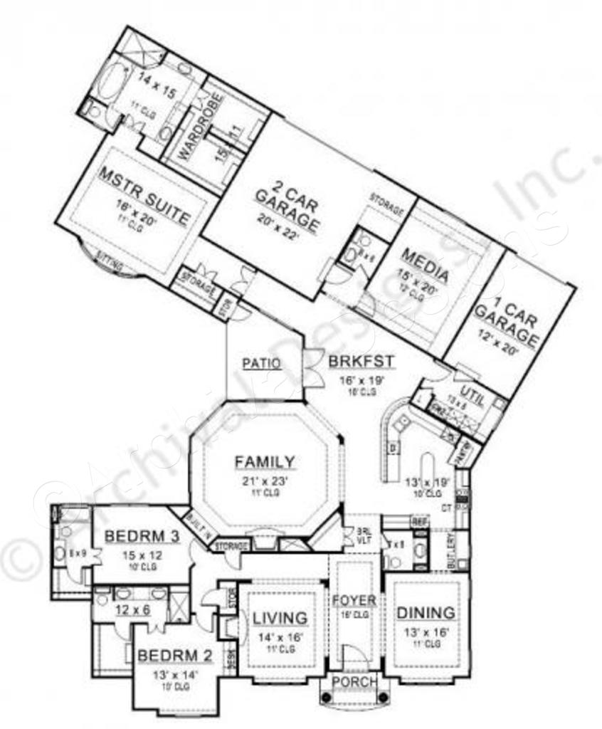 846x1024 Black Rock Ranch Floor Plans Luxury Floor Plans