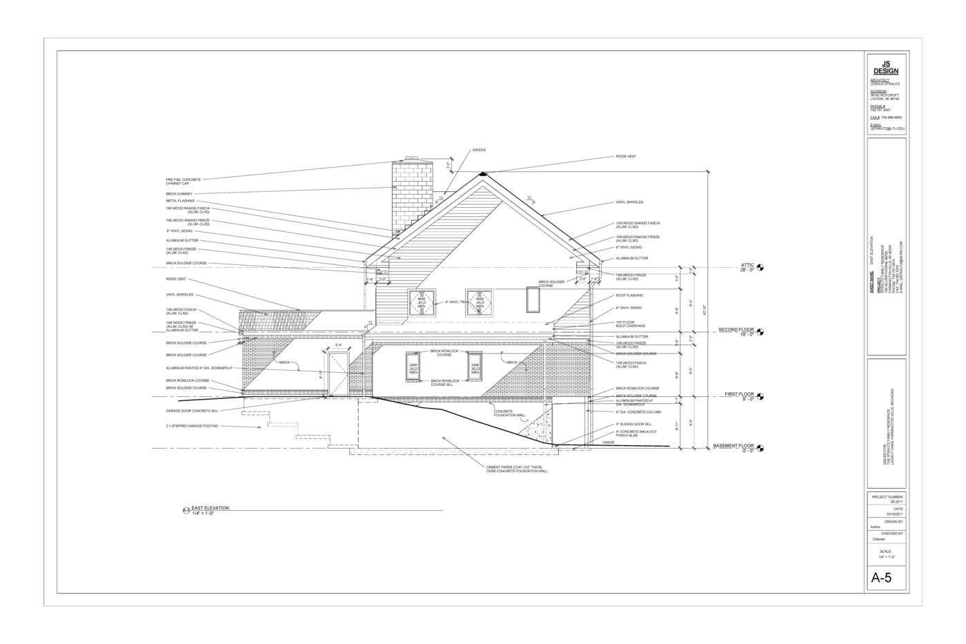 1400x933 Residential Construction Drawings By Josh Strautz