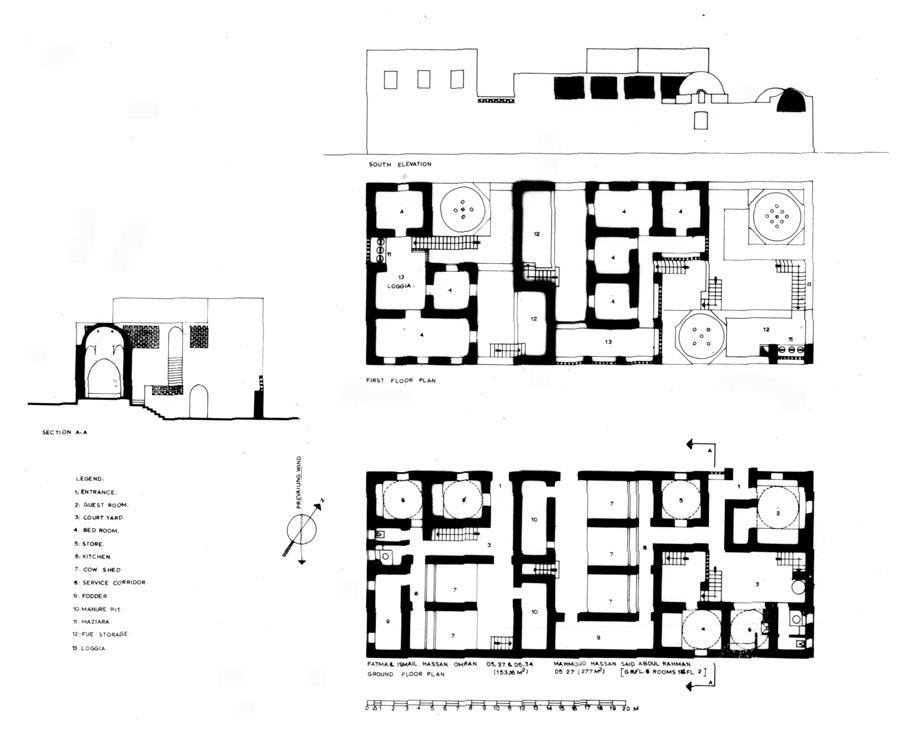 899x739 Public Buildings In Village Center Design Drawing Archnet