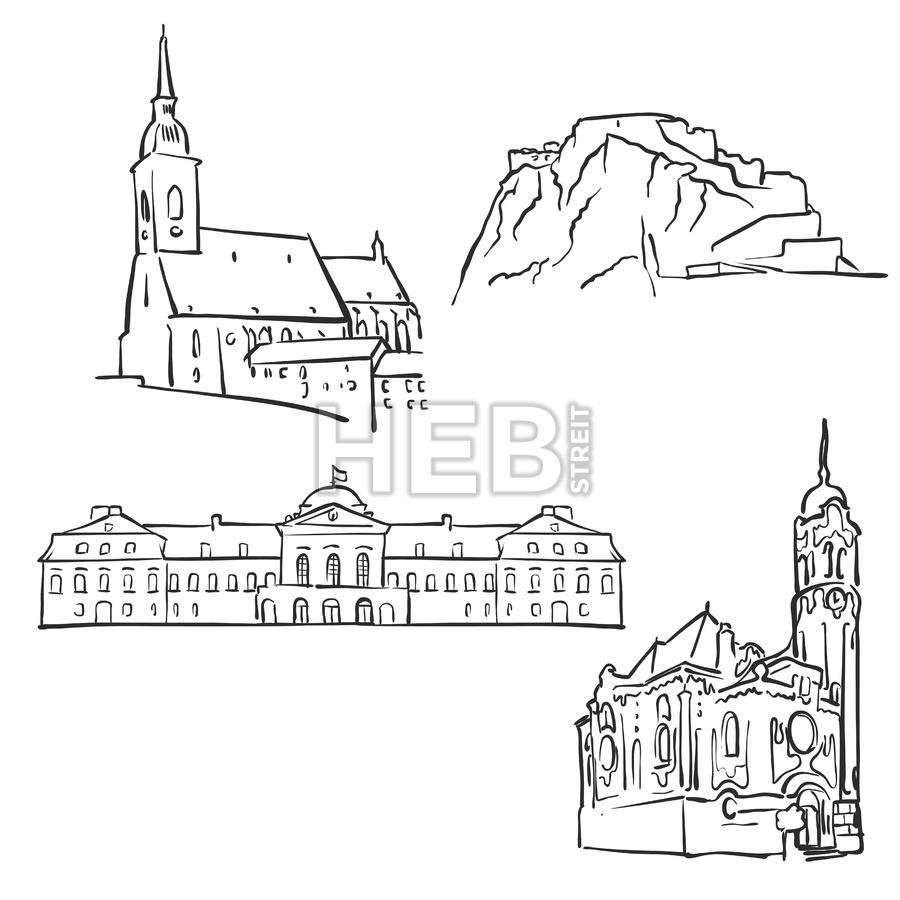 900x900 Bratislava, Slovakia, Famous Buildings Hebstreits