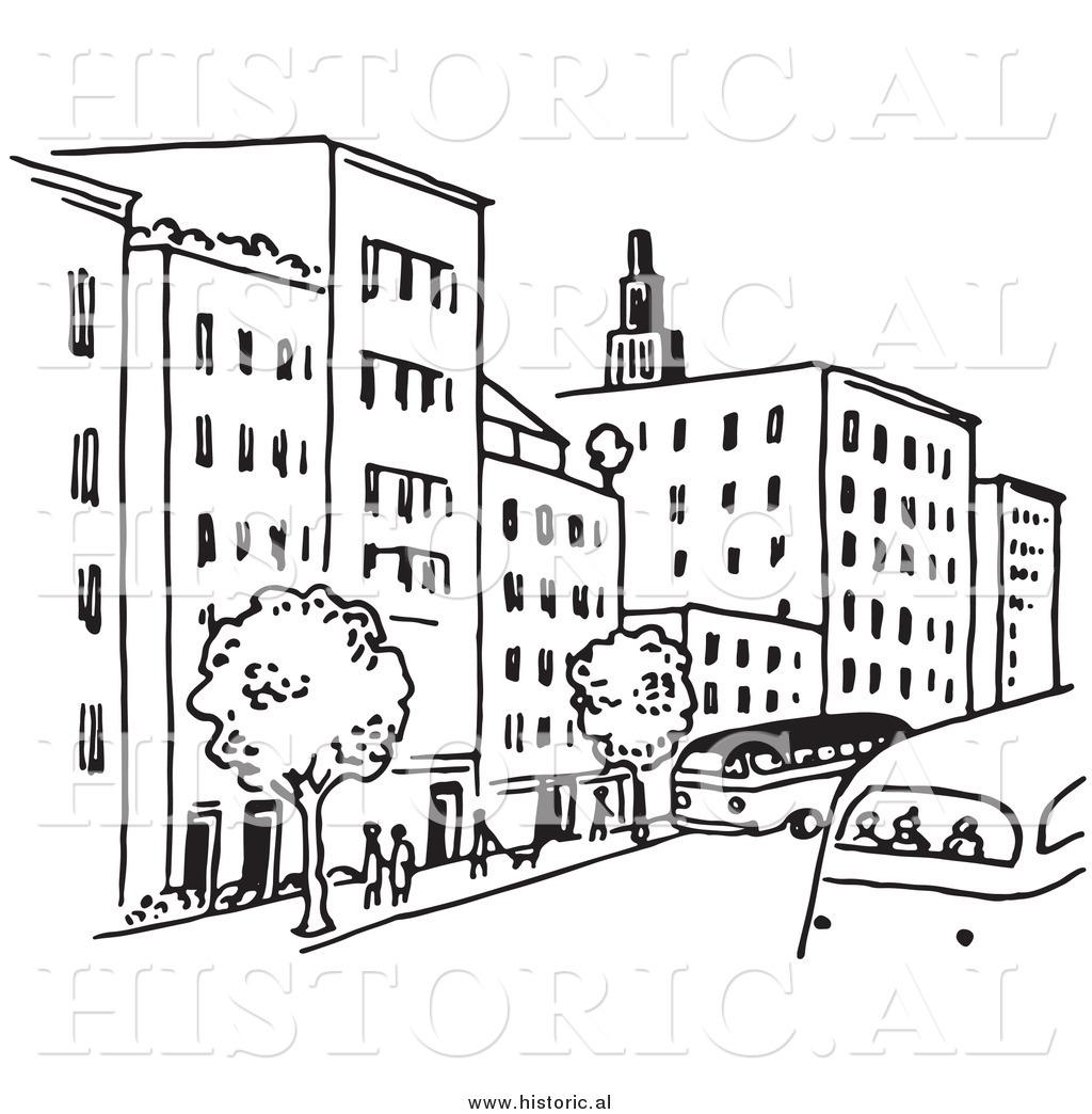1024x1044 Building Clipart City Street